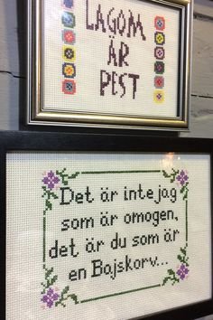 Embroidery Patterns, Cross Stitch Patterns, Bra Hacks, Sassy Quotes, Gift Quotes, Modern Cross Stitch, Textiles, Loom Knitting, Cross Stitching