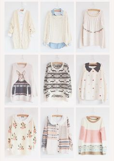 So as you all can see I love sweaters so comment if you'd like to join my board cute outfits!
