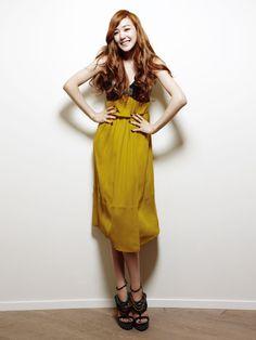 SNSD Tiffany on Bazaar Magazine