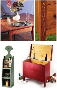 Free DIY Country Style Furniture Project Plans from Popular Woodworking Magazine