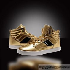 Supra Skytop III Shoes (Gold)