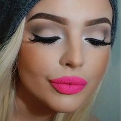 I love the lipstick with the shadow! This is so pretty and what I have been trying to look for and post for a few days now.