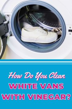 Ready to try using vinegar to clean your Vans, but not sure where to begin? We've got a step by step guide on how to clean white Vans using vinegar. Laundry Storage, Diy Storage, Cleaning White Vans, Using Vinegar To Clean, How Do You Clean, Doing Laundry