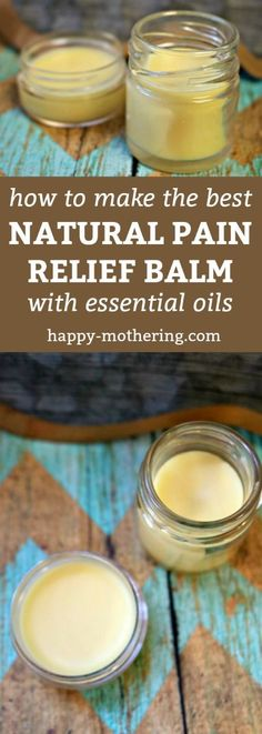 A natural pain relief product that works. via @happymothering