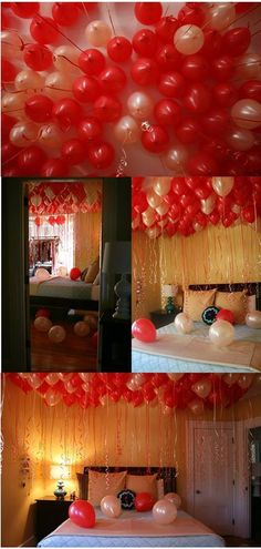 Amazing Birthday Balloons Morning Surprise