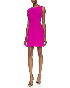 9cfa666a62 Milly Coco Sleeveless Seamed A-line Dress