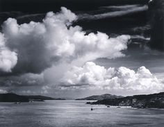 Ansel Adams - The Golden Gate before the Bridge, 1932