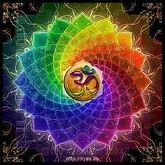 d7acb59df Lotus Om Mandala by Lilyas on @DeviantArt Mandalas Om, Spiritual Symbols,  Sacred Symbols
