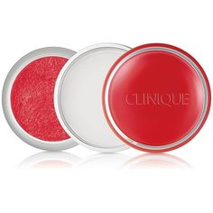 Clinique Sweet Pots Sugar Scrub & Lip Balm ($20) ❤ liked on Polyvore featuring beauty products, skincare, lip care, lip treatments, apparel & accessories, clinique lip treatment, lip treatment and clinique