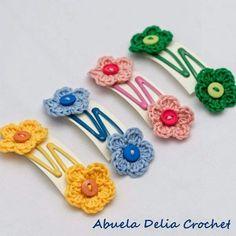 Best 12 Fantastic crochet hair accessories you must have for summertime crochet hair accessories crocheted bow hair clip. crochet hair clips for little girls, this little girl hair UGICBNX – SkillOfKing. Crochet Hair Clips, Crochet Bows, Crochet Buttons, Crochet Flower Patterns, Crochet Hair Styles, Crochet Gifts, Crochet Flowers, Crochet Earrings, Crochet Butterfly