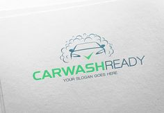 Car Wash Ready Logo by LogoMagazin on Creative Market