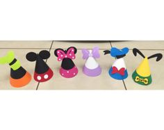 Mickey Mouse Clubhouse Inspired placecards food by jkdesigns2009