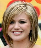 Flattering Hairstyles For Round Faces | ... flattering are recommended for round shape faces among these haircuts