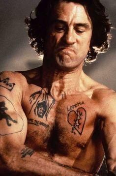 Robert De Niro as Max Cady in Martin Scorsese's 1991 film, Cape Fear.