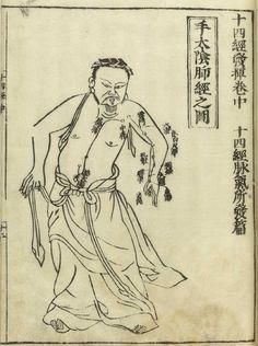 Hua: Jushikei hakki (Shi si jing fa hui. Japanese & Chinese)