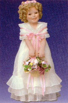 Shirley Temple: Flower Girl, by Elke Hutchens