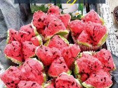 Bolu Kukus Semangka Susu Protein, Strawberry, Fruit, Breakfast, Flowers, Tumblr, Food, Morning Coffee, Essen