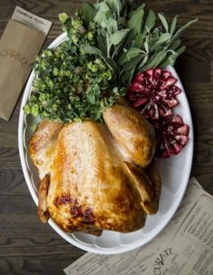 Brined Sage Roast Turkey from Chef Katie Button of Curate in Asheville ...