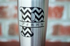 Everyone loves their YETI! Make yours stand out with personalization.  This listing is for a personalized stainless steel 20 oz YETI mug. The