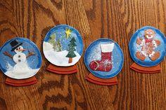 Simple no-sew snow globe coasters are a fun and festive DIY gift idea you make this holiday season!