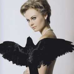 If I were going as a Hitchcock Blonde for #Halloween.