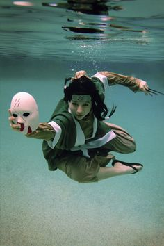 underwater ninja - Android Wallpapers HD