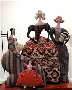 Одноклассники Fabric Dolls, Fabric Art, Paper Dolls, Art Dolls, Textiles, Fox Toys, Ugly Dolls, Doll Maker, Soft Sculpture