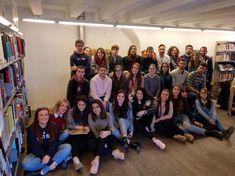 13 de noviembre de 2017. Visita de los alumnos de Biblioteconomía de Badajoz.