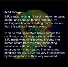 Made to feel alone, even by our brain. I am INFJ 😶 Amy Smith Infj Traits, Infj Mbti, Enfj, Introvert, Myers Briggs Infj, Infj Type, Infj Personality, Thoughts, Feelings