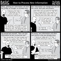 Basic Instructions - How to Process NewInformation