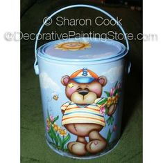 The Decorative Painting Store: Bartimus Bear Pattern by Sharon Cook, Newly Added Painting Patterns / e-Patterns