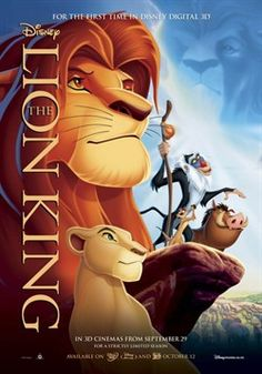 The Lion King is a 1994 American animated epic musical film produced by Walt Disney Feature Animation and released by Walt Disney Pictures. It is the animated feature in the Walt Disney Animated Classics series. Disney Films, Disney Movie Trivia, Walt Disney, The Lion King 1994, Lion King Movie, Bon Film, Film D'animation, See Movie, Movie Tv