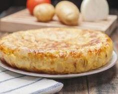 Tortillas aux pommes de terre, haricots verts et thon