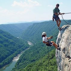 ACE Adventure Resort - Rock Climbing New River Gorge #myACEdream