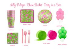 Lilly Pulitzer Paper Goods | Chinoiserie Birthday Part 6