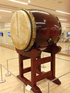 One of the nicest Japanese Taiko drums I've ever seen close up - from the collection at the Music Instrument Museum (MIM), Phoenix
