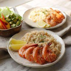 Shrimp, Food And Drink, Plates, Meals, Cooking, Ethnic Recipes, Recipe, Licence Plates, Kitchen