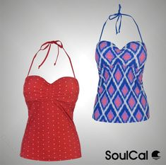 126ac6ac1 Ladies SoulCal Stylish Stretchy Bandeau Tankini Top Swimwear Beachwear  #fashion #clothing #shoes #