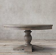 17th C. Priory Round Dining Table Restoration Hardware Possible dining room table - we need one that extends to seat 8