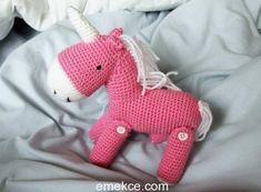 Amigurumi Unicorn At Yapılışı