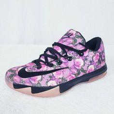 c45dbfaf1193 (eBay Sponsored) Nike KD 6 VI EXT Pink Floral QS Mens Size 8.5