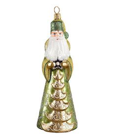 Another great find on #zulily! Russian Pearl Santa Ornament #zulilyfinds