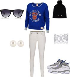 """""""Knicks (:"""" by xdeniseeeee ❤ liked on Polyvore"""