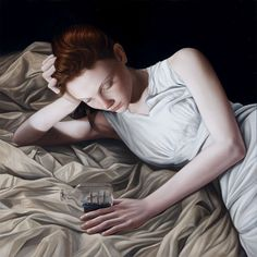 22 Mind Blowing and Realistic Oil Paintings by MaryJaneAnsell. Follow us www.pinterest.com/webneel