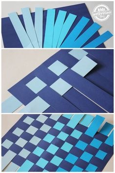 how to weave paper