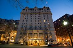 The Willard InterContinental when in DC the place for sleeps and more. Fantastic locale and the lovely Round Robin Bar❤❤