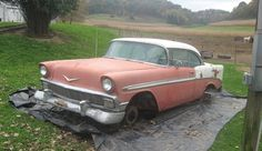 Court Ordered Sale: 1956 Chevrolet Bel Air - http://barnfinds.com/court-ordered-sale-1956-chevrolet-bel-air/