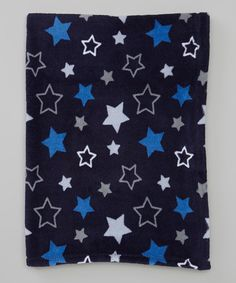 Look at this #zulilyfind! 30'' x 40'' Blue Star Receiving Blanket by Vitamins Baby #zulilyfinds