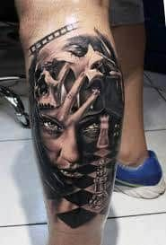 What does chess tattoo mean? We have chess tattoo ideas, designs, symbolism and we explain the meaning behind the tattoo. Chess Tattoo, Tattoos With Meaning, Tattoo Designs, Chess Sets, Personality, Google Search, Ideas, Meaning Tattoos, Chess Games