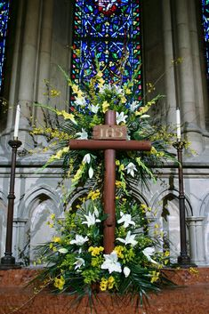 https://flic.kr/p/9Bewcy   Easter Altar, St Luke's Episcopal Church Montclair NJ